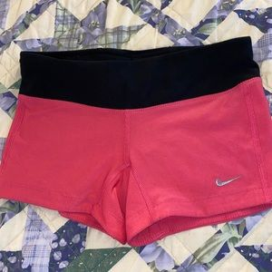 Nike work out running shorts